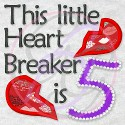 Applique Heart Breaker is 5